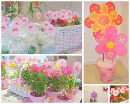 flores - Decoración para eventos Infantiles - Melina Kalenchuk