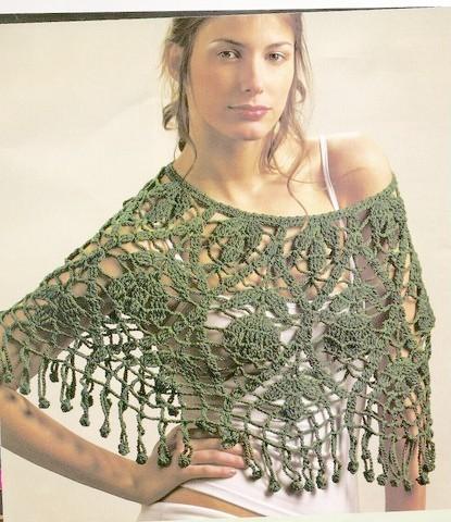 Prendas tejidas al crochet - Imagui